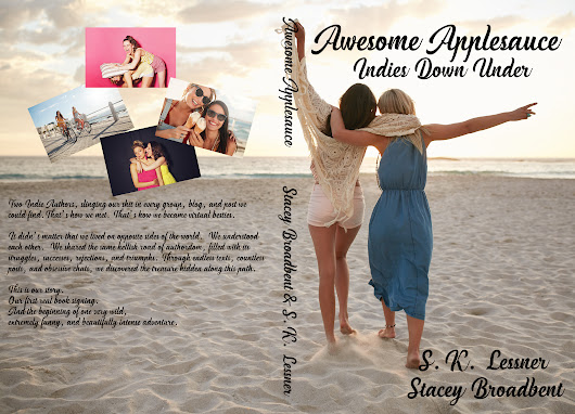 Release Blitz - Awesome Applesauce Indies Down Under By S.K. Lessner and Stacey Broadbent