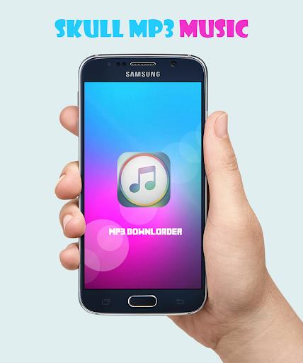 skull mp3 music downloader pro apk