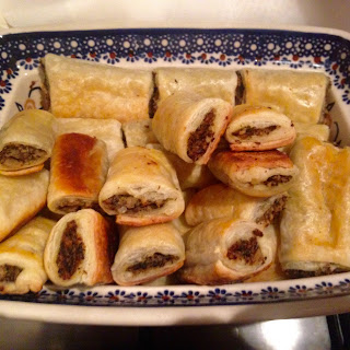 Paszteciki (Savory Mushroom and Cabbage Pastries)