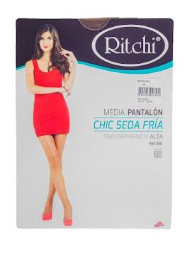 MEDIAS RITCHI CHIC SEDA   FRIA SILK SHERR TALLA M BROWN X1UND.