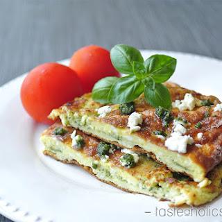 Pesto & Feta Omelette