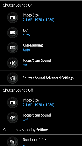 HD Camera Pro - silent shutter screenshot 13