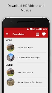 DownTube Free Video Downloader Screenshot