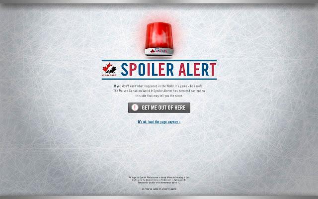 World Jr. Spoiler Alerter