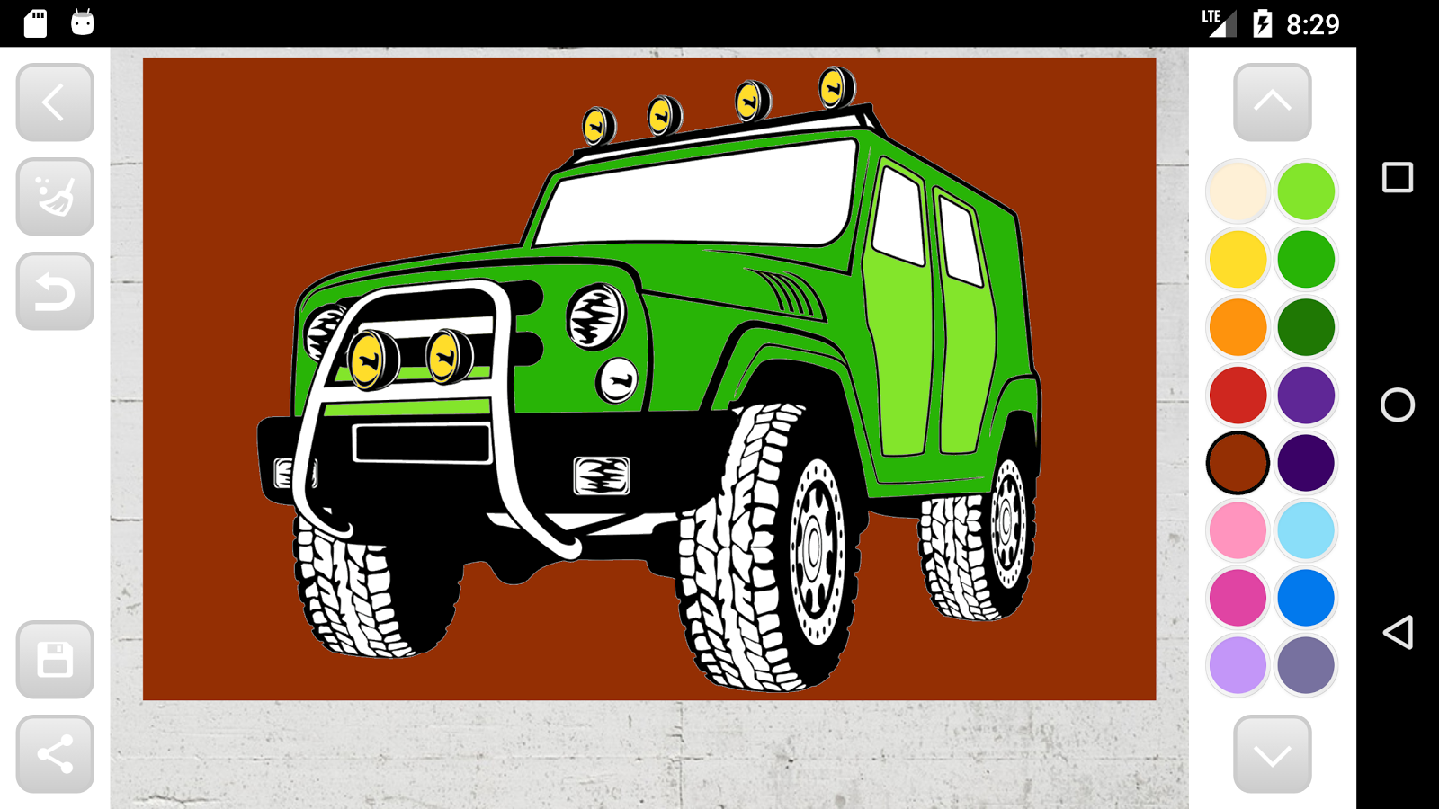 russian cars coloring book android apps on google play