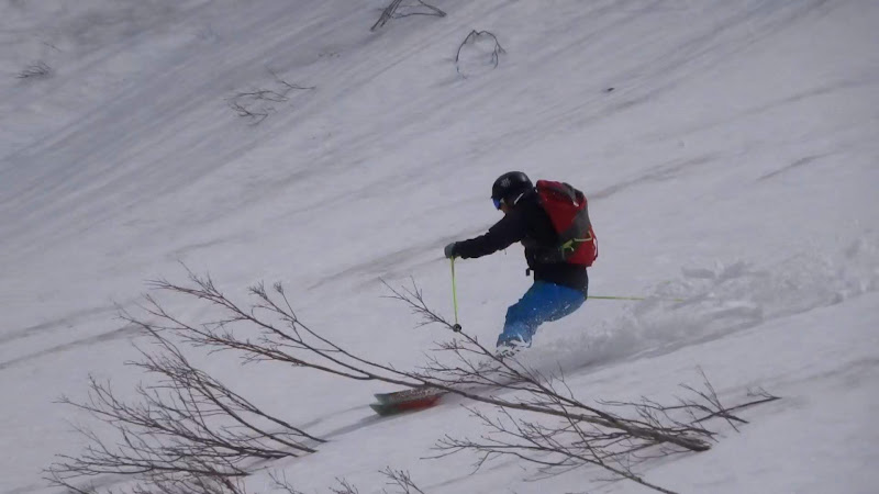 【八方尾根スキー場】バックカントリー・スキー⑦