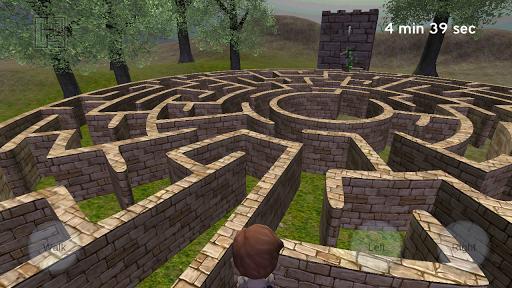 3D Maze (The Labyrinth)  captures d'écran 5