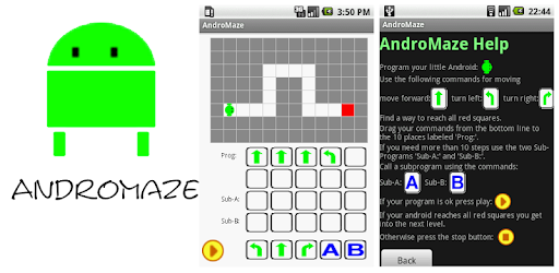 AndroMaze game (apk) free download for Android/PC/Windows screenshot