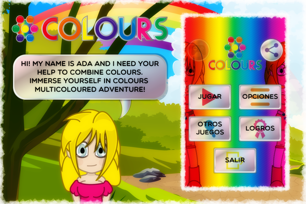 Colours- screenshot