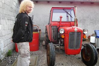 Photo: Następnmy relikt socjalizmu ;-) ( traktor znaczy się, nie Arcon )