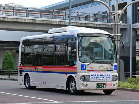 大阪バス 久宝寺出戸線 ・・32 久宝寺駅にて その2