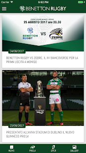 Benetton Rugby Official App - náhled