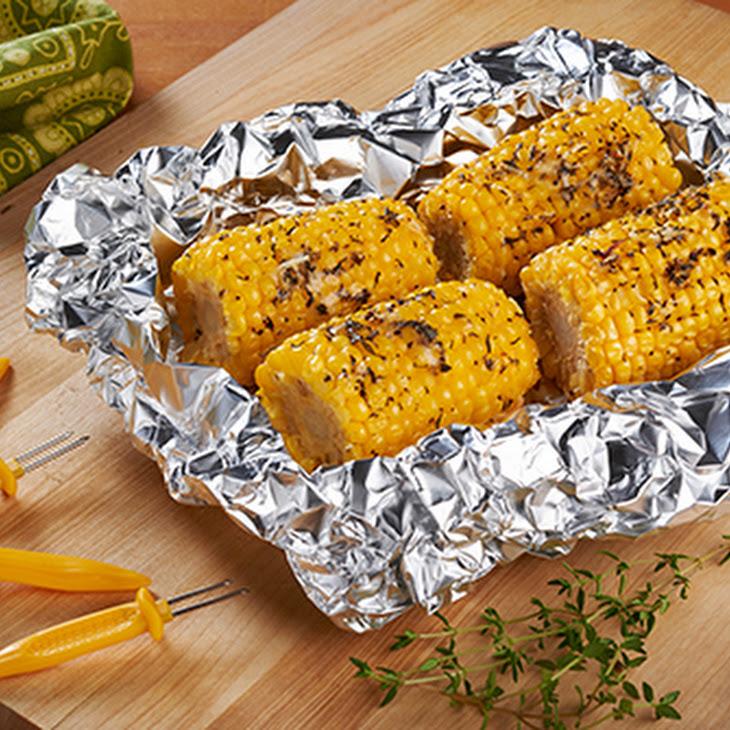 Grill Thyme Corn on the Cob Recipe
