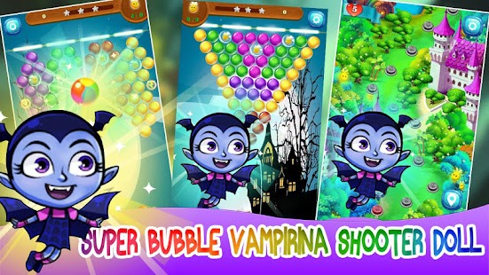 Christmas Vampire Doll - Lullaby Bubbles - náhled
