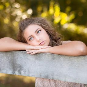 simple beauty by Melanie Ayers Wells-Photography - People High School Seniors ( female, teenager, senior )