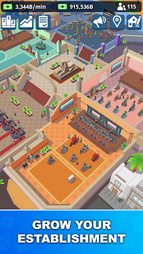 Idle Casino Manager - Tycoon Simulator apkmr screenshots 4