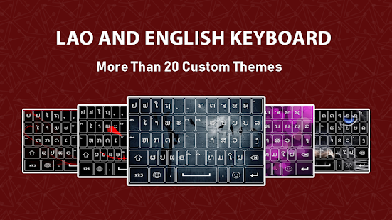 Lao Keyboard 2019,Typing App with Emoji for PC / Windows 7, 8, 10