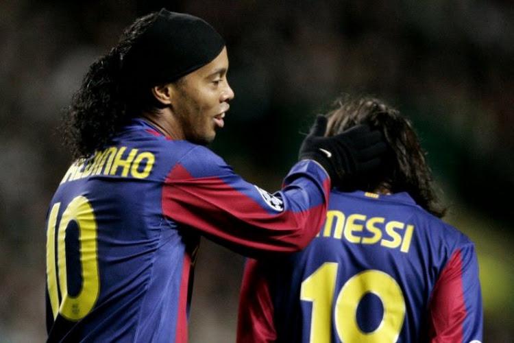 """Ronaldinho rêve d'une issue dans le dossier """"Messi"""""""