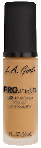 Bases La Girl Pro Matte 674 Natural