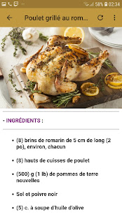 Download Recettes Poulet Facile For PC Windows and Mac apk screenshot 3