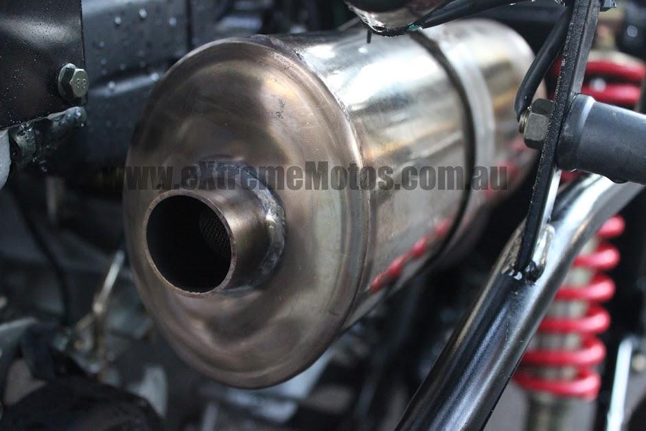300cc XRX Trailmaster Twister Hammerhead GoKart Dune Buggy Stainless Steel muffler