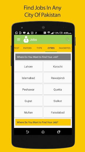 Pakistan Jobs - All Latest jobs in Pakistan 2018  screenshots 5