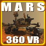VR Martian Panoramic View Icon