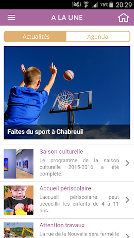 android Mairie de Chabreuil Screenshot 2