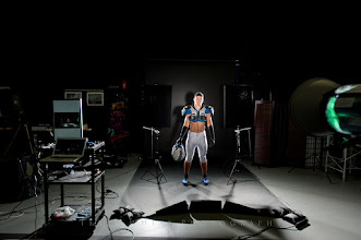 Photo: Behind the scenes of the Trevor Camanse Sports Shoot