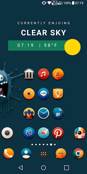 PixxR Buttons Icon Pack Screenshot Image