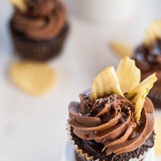 Chocolate Cupcakes with Coffee Glaze and Chocolate Ganache