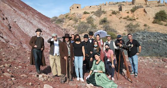 Benahadux, escenario de un cortometraje western
