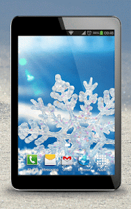 Snowflake Live Wallpaper screenshot 5