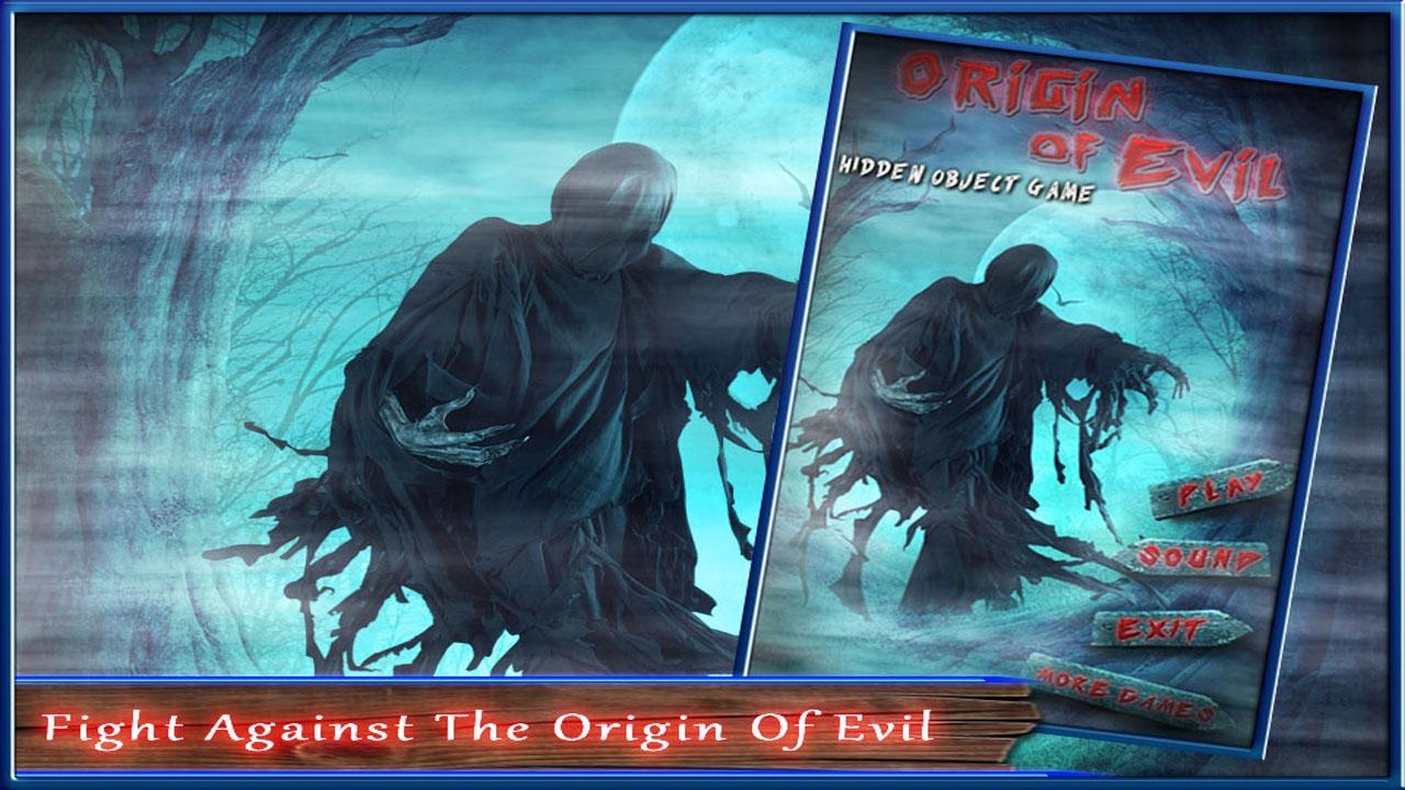 Free Hidden Object Games New Free Origin of Evil- screenshot