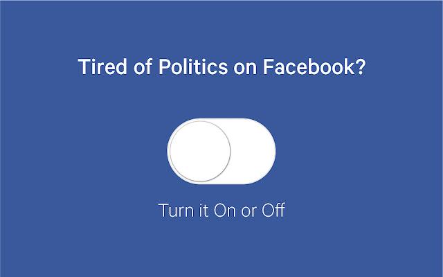 Remove All Politics From Facebook