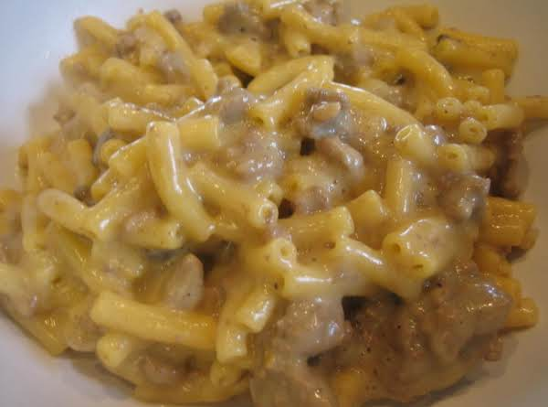 Easy Cheeseburger Macaroni
