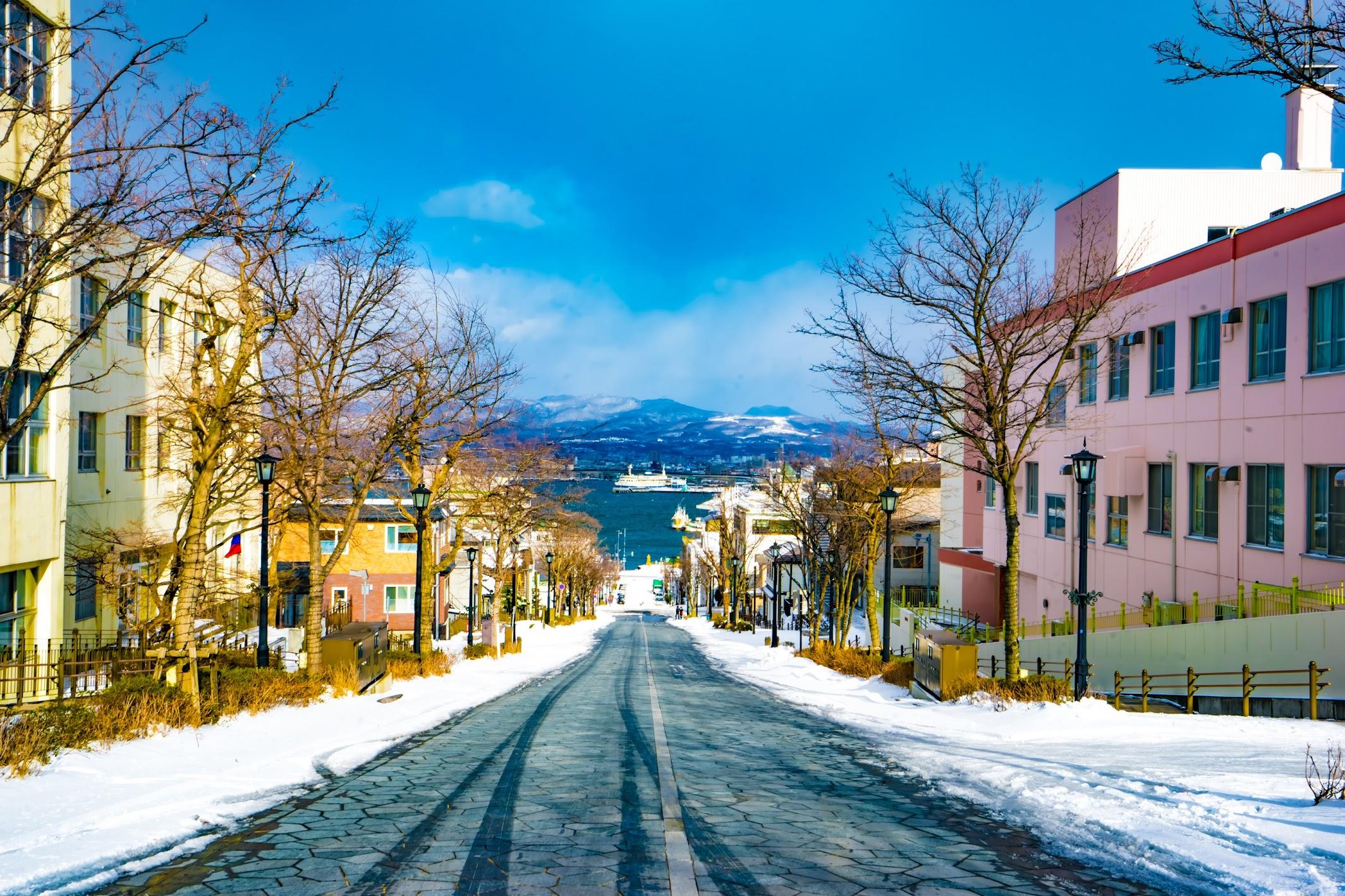 Hakodate Hachiman-Zaka Slope1