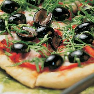 California-Style Grilled Pizzetta Recipe