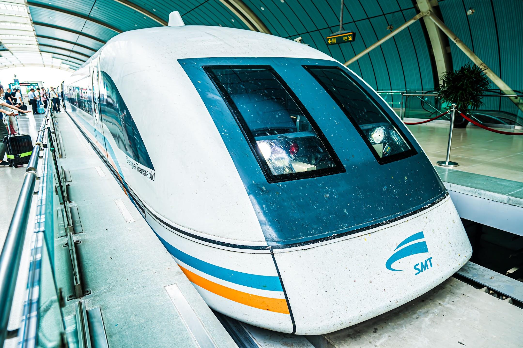 Shanghai Maglev train2