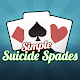 Simple Suicide Spades - Classic Card Game (game)