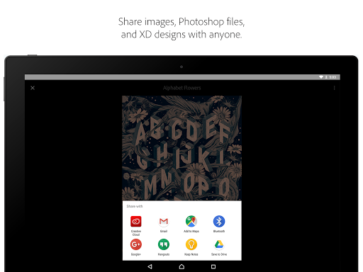 Adobe Creative Cloud 4.8.1 Apk for Android 8