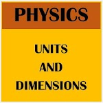 Physics Units And Dimensions