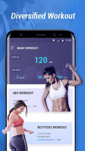 Magic Workout - Abs & Butt Fitness 1.0.3 screenshots 2