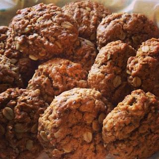 Hearty & Homey Coconut Oatmeal Cookies.