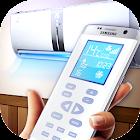 Remote control for AC icon
