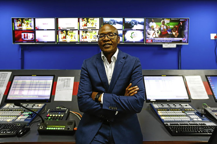 Mzwanele Manyi, whose company Lodidox owns The New Age and ANN7. File photo.