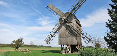Photo: Windmühle in Tüngeda