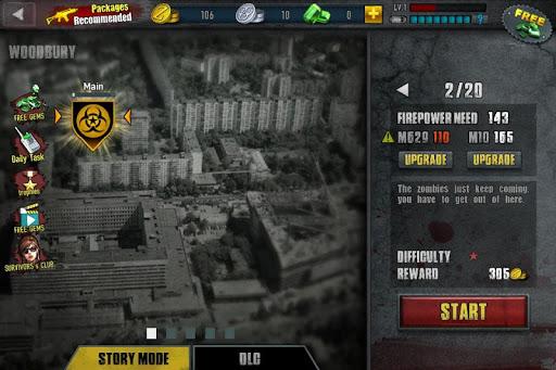 Zombie Frontier 3: Jeu de Tir  captures d'écran 6