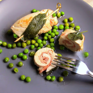 Chicken Breast Prosciutto Rolls - pressure cooker.