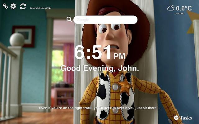 Woody HD Wallpaper Tab Theme